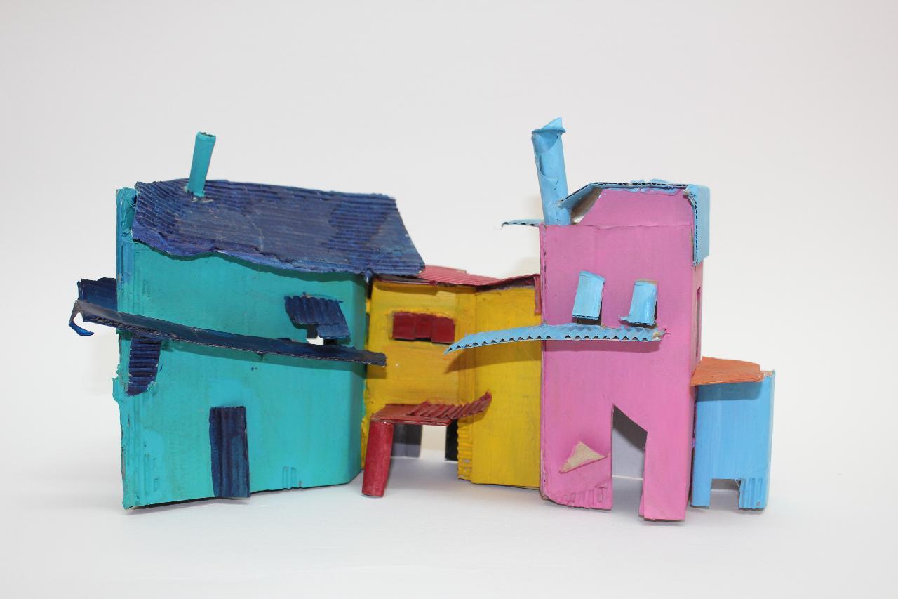 Future Worlds Sculptural Assemblage
