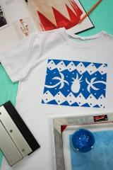 Screen Print a T-shirt