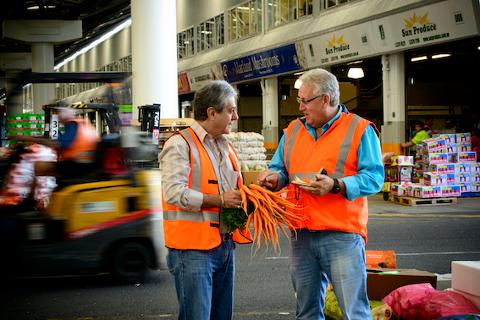 Behind the scenes at Brisbane Markets