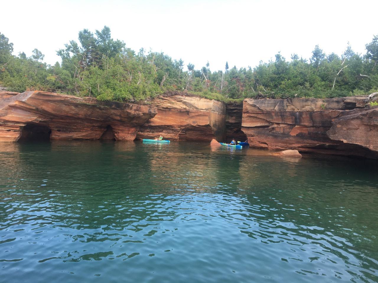 Sand Island Sea Caves Boat Tour