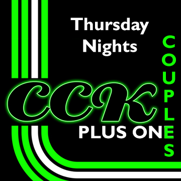 Couples PLUS ONE ( every Thursday before 9.30 ) 3 people