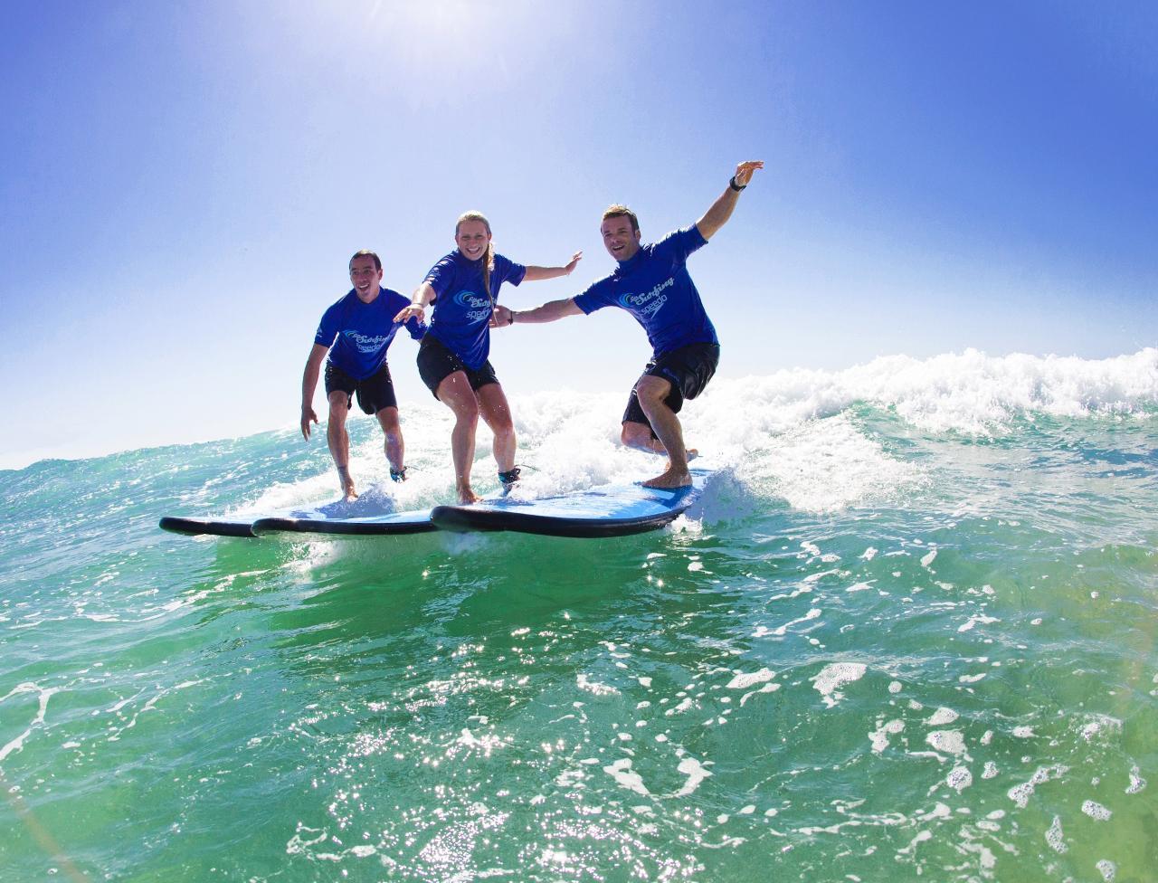 Byron Surf Lesson