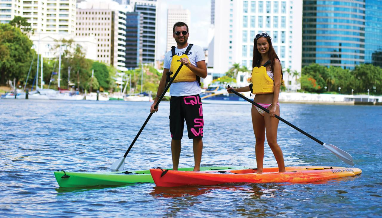Stand-up Paddle-boarding