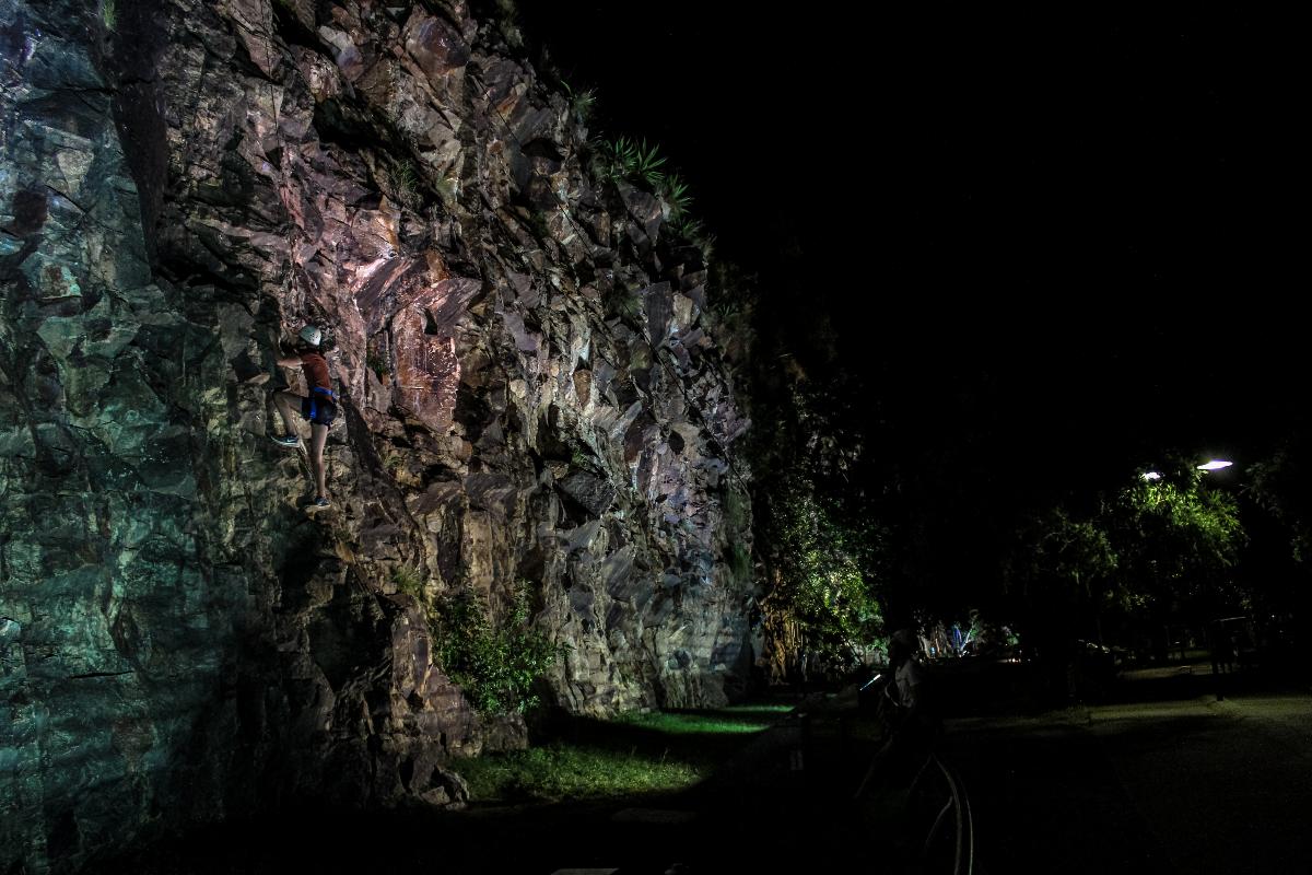 Twilight Rock Climb Adventure