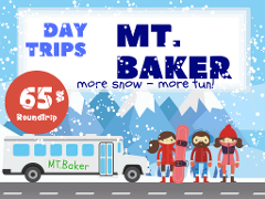BUS to MT.BAKER / Round trip