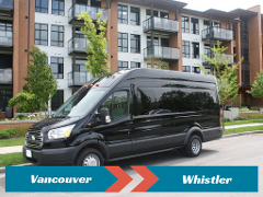SPECIAL DEAL: Private Transfer from Vancouver to Whistler