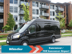 SPECIAL DEAL: Private Transfer from Whistler to Vancouver/YVR Airport
