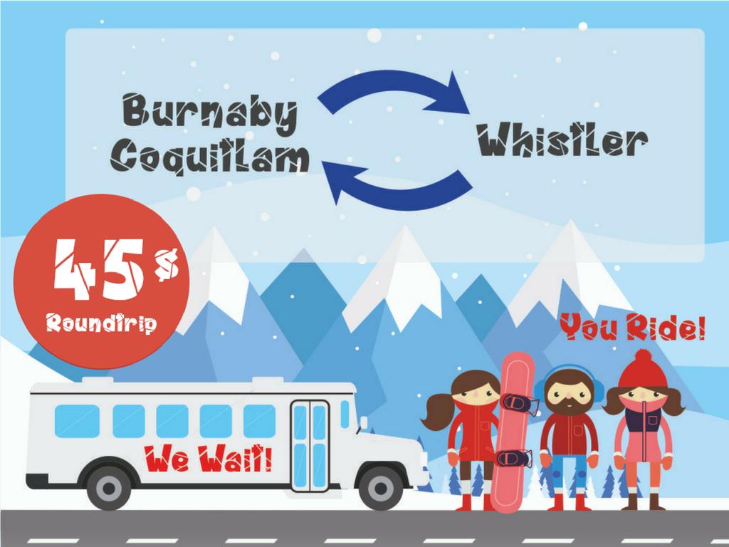 WHISTLER BUS / Round trip