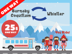 WHISTLER BUS / One-way