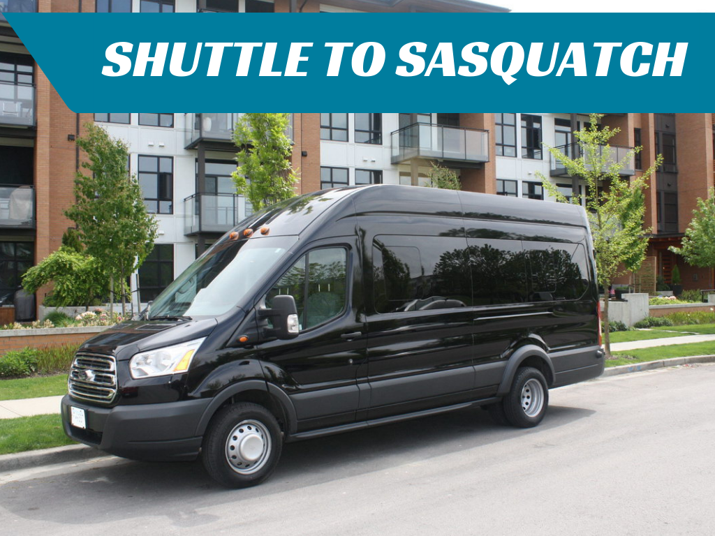 ROUND-TRIP Shuttle to Sasquatch Resort from Abbotsford