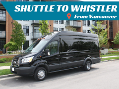 Shuttle to Whistler from Vancouver