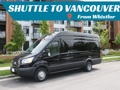 Shuttle to Vancouver from Whistler