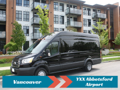Private Transfer from Vancouver to YXX Abbotsford Airport