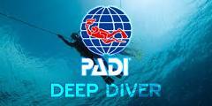 PADI Specialty Course - Deep Diver