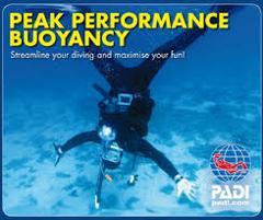 PADI Specialty Course - Peak Performance Buoyancy