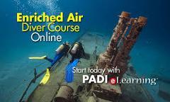PADI Specialty Course - Nitrox/EANX