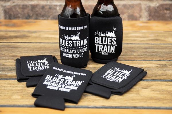Blues Train Stubby Holder