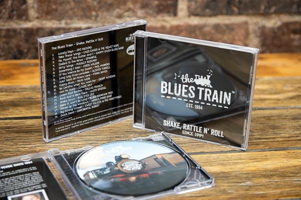 Blues Train CD - Train Trax
