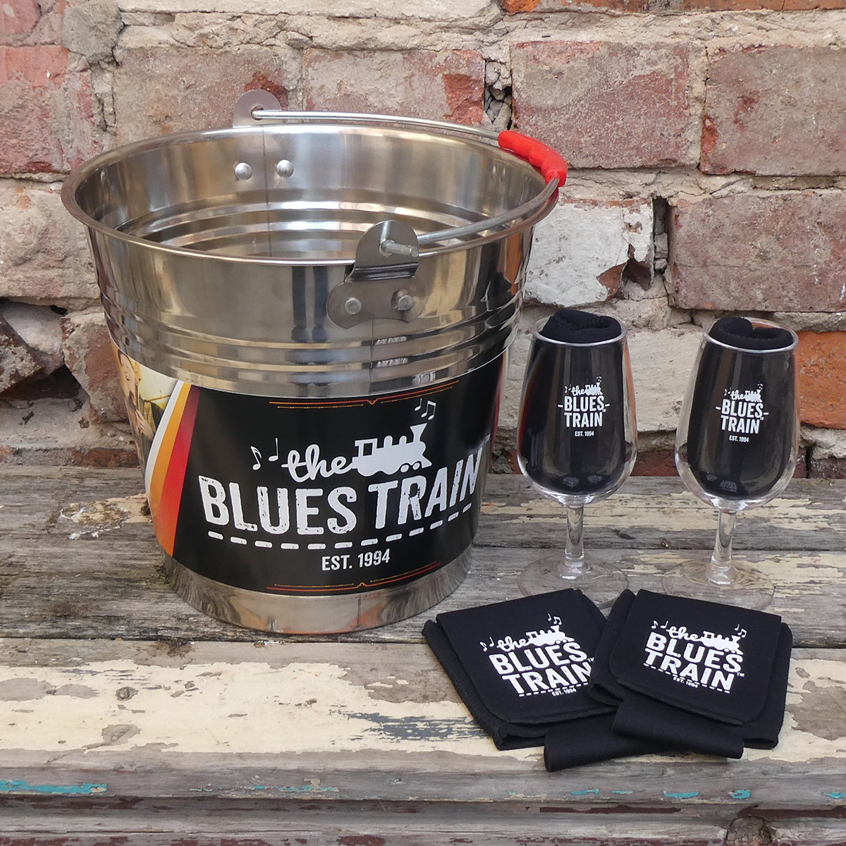 Blues Train Bucket Bevvy Pack