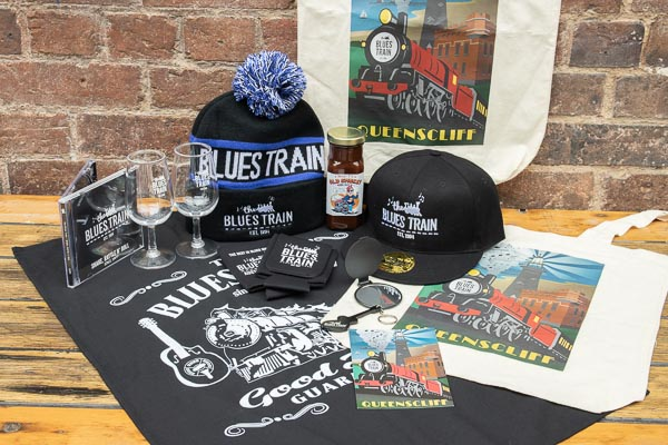 Blues Train ULTIMATE Merch Calico Bag