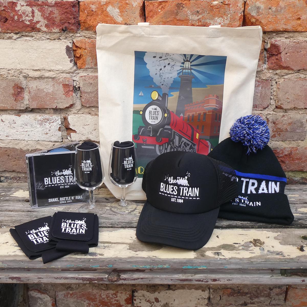 Ultimate Blues Train Merch Pack - Calico Bag