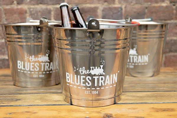 Blues Train Ice Bucket