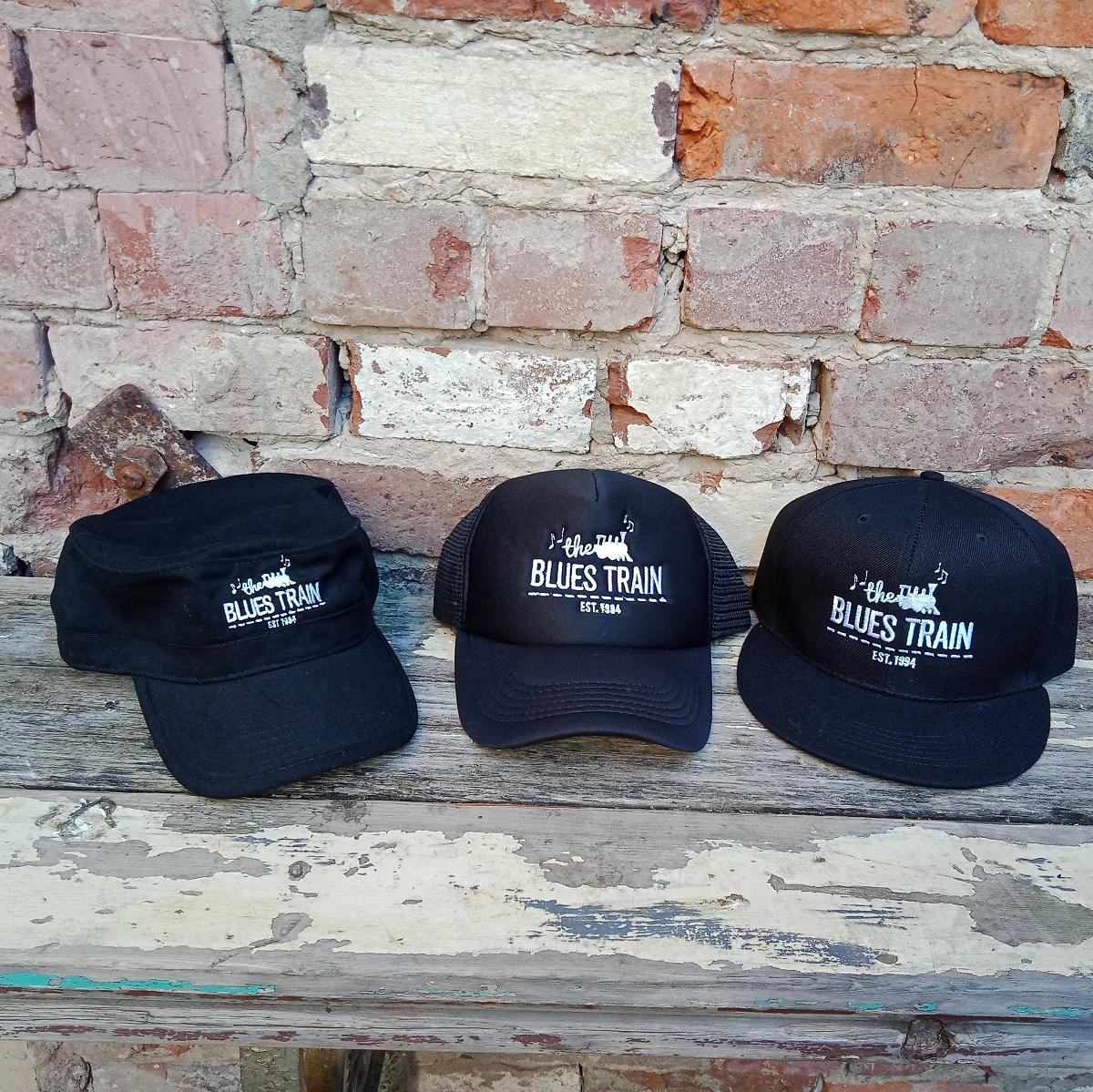 Blues Train Cap - 3 Styles