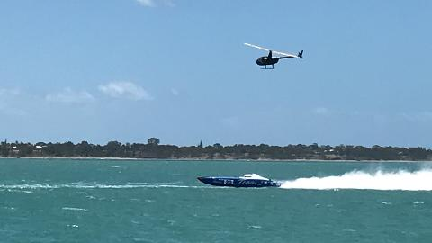 Offshore Superboat Racing and Seafood