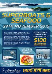 Seafood and Superboats -29 November 2015