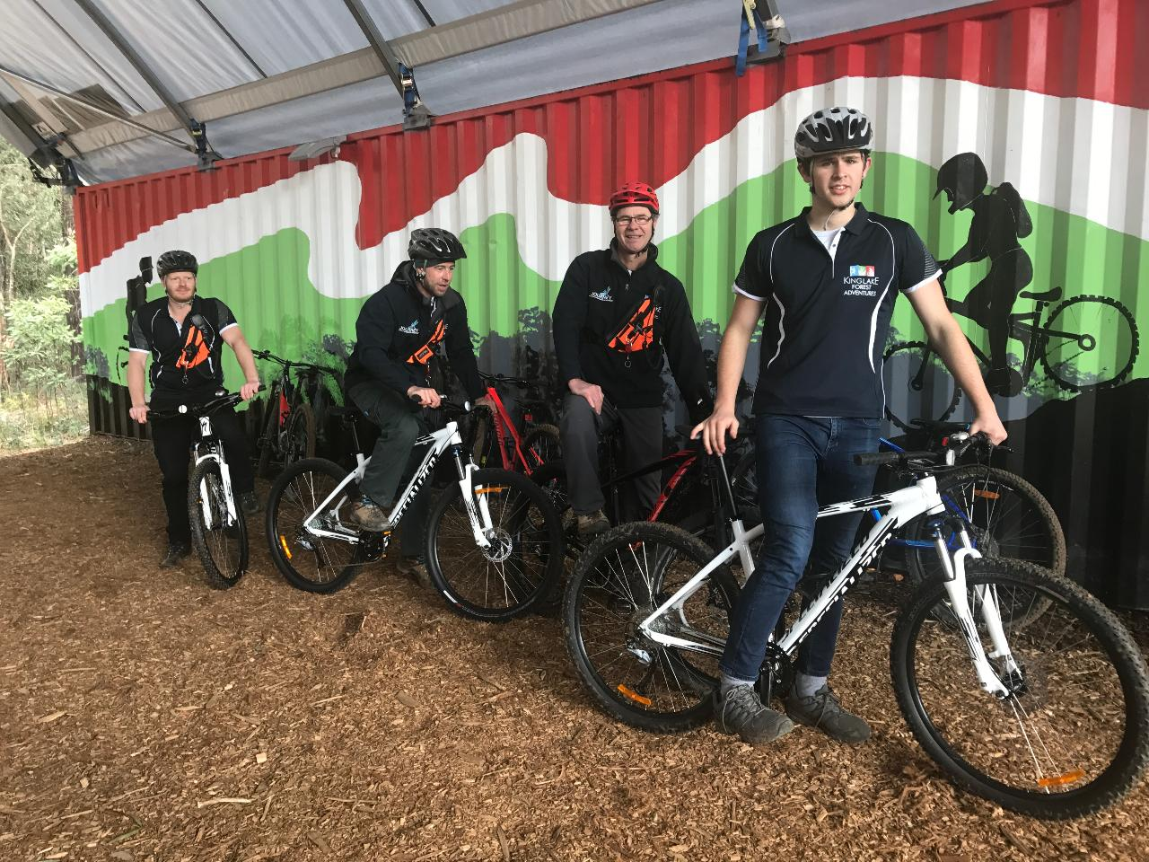 Pedal Assisted Forest Riding