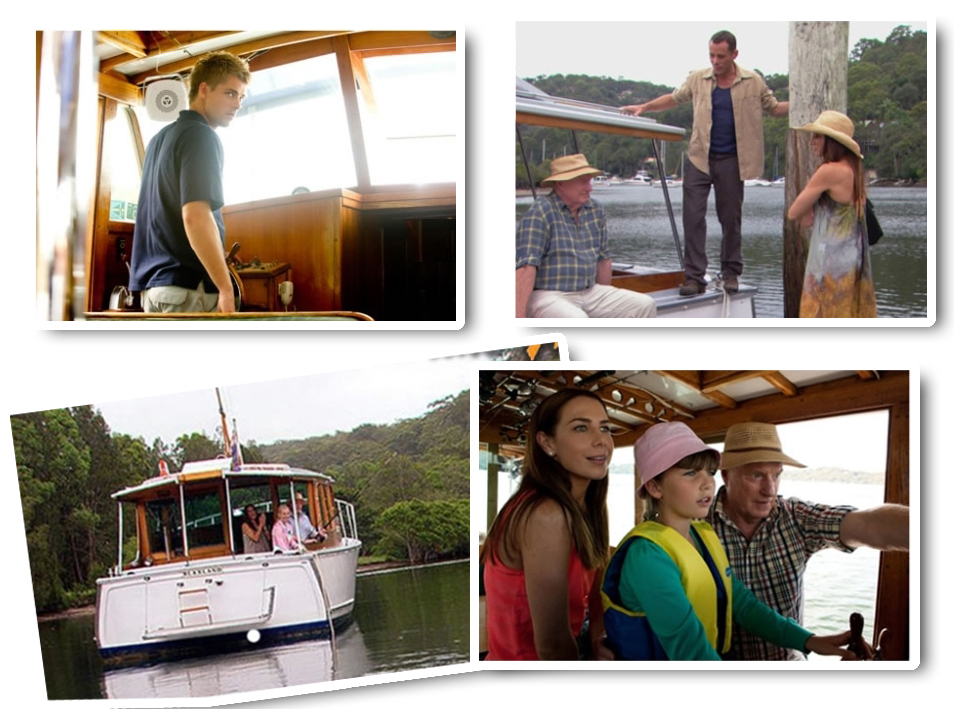 BLAXLAND BOAT Location Tour to Home and Away