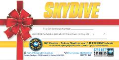 Gift Special - Tandem Skydive Mid Week