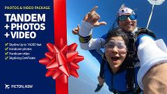Gift Voucher Tandem Skydive with Video & Photos