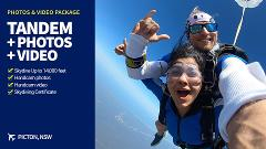 Tandem Skydive with Video & Photos
