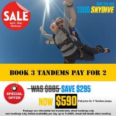 Tandem Skydive - Book 3 pay 2