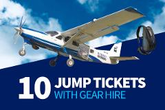 Sport Jump Tickets with Gear Hire [10 Pack]