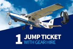 Sport Jump Tickets with Gear Hire