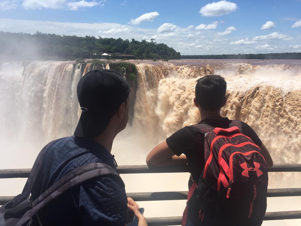 FOZ COMBO 3 - Arriving Foz do Iguaçu | Staying in Foz do Iguaçu | Brazilian + Argentine Side of Falls | Departing Puerto Iguazu