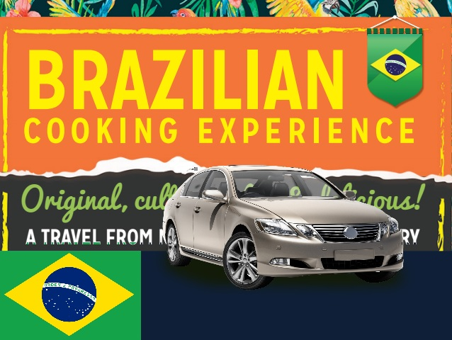 Brazilian Cooking Experience  (Cultural Cooking Class + Private Transfers)