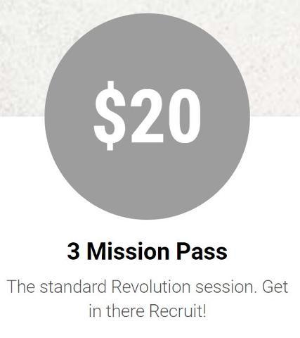 3 Mission Pass Voucher