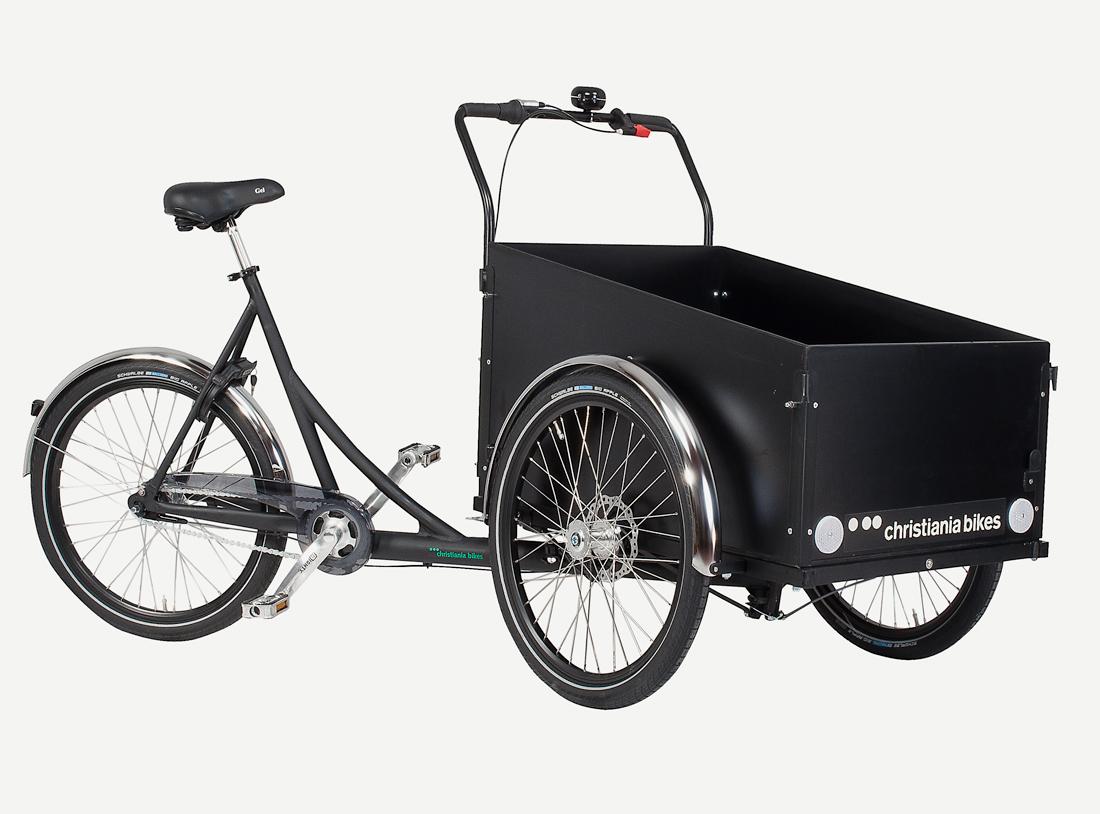 Christiania bike (cargo bike/box bike)