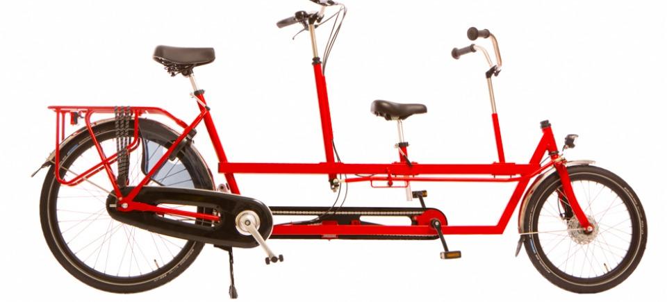 Tandem (family bike, one adult, one kid)