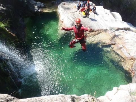 Canyoning in Peneda-Gerês National Park