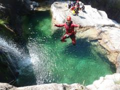 Canyoning in Peneda-Gerês National Park