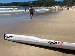Epic Surf Ski  V9 Rental . ( Black Tip)