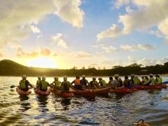 The Sunrise Byron Bay Sea Kayak Tour