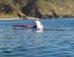 Surf Ski Cardio / Interval Training Session