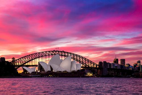 Sunset  Sydney Harbour Sea Kayak Tour