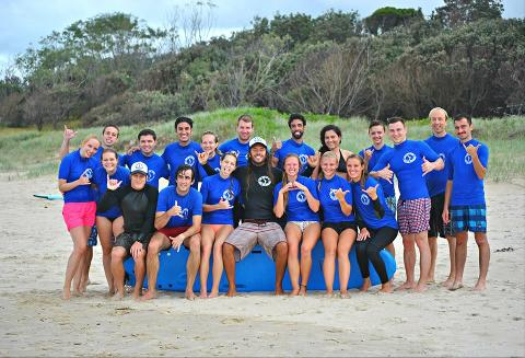 Byron Bay Surf Weekend (University of Queensland)