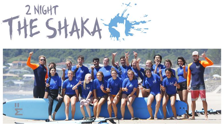"2 Nights Surf and Stay ""The Shaka Package"" PEAK SEASON"